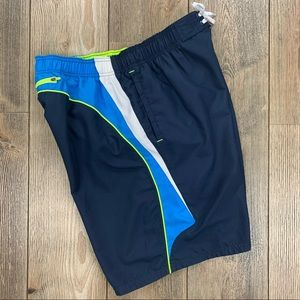 Nike Multi-Color Mesh Lined 3 Pocket Bathing Suit